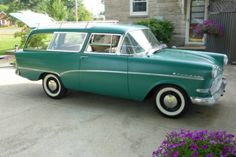 1960 Opel Caravan Station Wagon For Sale Front