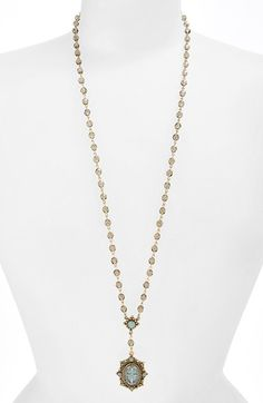 Virgins Saints & Angels Beaded Rosary Necklace (Nordstrom Exclusive) available at #Nordstrom