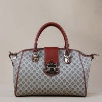 Leather Tote Handle Bag For Women