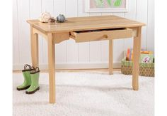 Kid Kraft Table and Chairs - Avalon Table Only - Natural - Kids Furniture for any Nursery or Kids Room - Tables & Chairs