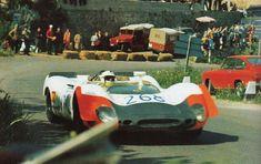 Brian Redman / Richard Attwood, #268 Porsche 908/02 K (Porsche AG), Targa Florio 1969 (DNF)