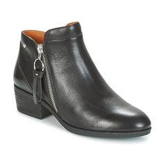 5bdc72ba8dd Pikolinos DAROCA W1U Noir - Boots Femme Spartoo. Pikolinos DAROCA W1U Noir pas  cher ...