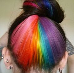 There's just something about rainbow coloured hair that screams my name almost every time...