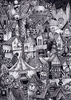 Doodle . Wow! awesome!! Love the details!