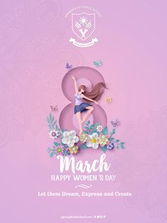 Let them Dream, Express and Create. Boarding Schools In India, Mother's Day Banner, India School, Happy Women, Public School, Mothers, Let It Be, Education, Christmas Ornaments