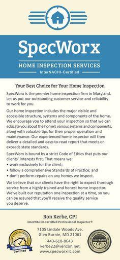 business card inspector home inspector business card ideas