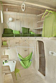 Compact living:: Smart student unit byTengbom Architects