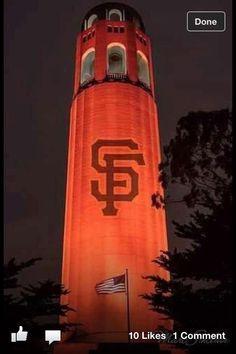Coit Tower for #OrangeOctober