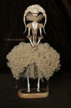 White Coffee with Ice by Tireless Artist Fairy Dolls, Bjd Dolls, Puppet Costume, Sculpture Art, Sculptures, Plastic Art, Barbie, Polymer Clay Dolls, Soul Art