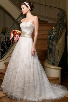 Casablanca Bridal Wedding Dresses Photos on WeddingWire