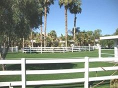 The palm Springs Valley has many small farms for equestrians.  Land is beginning to sell again!  Polo & horseshow trailers are coming back into town.