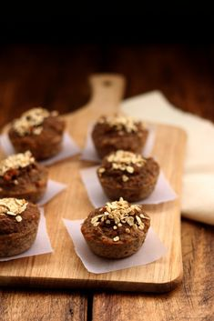 Naturally sweet gluten-free banana chia muffins that taste beautiful spread with any kind of jam. Plus, gluten-free! What more can you ask for?