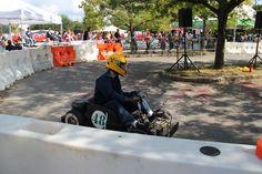 Repurposed powerwheels into mini racers
