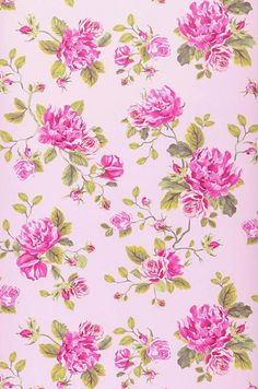 Isabelle | Flower wallpaper | Additional Wallpapers | Wallpaper from the 70s