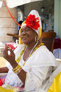 Fortune teller, Vieja Havana, Cuba