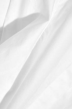Topshop Unique - Spiral Cotton-poplin Shirt - White - UK