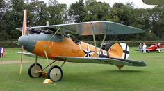 Albatros DVa replica built by The Vintage Aviatior Limited in New Zealand. BFD
