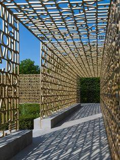 """Poetic"" Garden Wall"