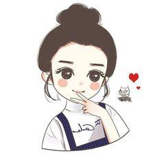 Cute Cartoon Pictures, Cute Cartoon Girl, Cartoon Pics, Cute Cartoon Wallpapers, Cartoon Art, Cute Love Wallpapers, Girly Drawings, Anime Girl Drawings, Anime Art Girl