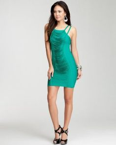 #6 a Head Turning night out dress by #Bebe #wishesanddreams