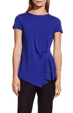 Vince Camuto Side Pleat Asymmetrical Top (Regular & Petite) available at #Nordstrom