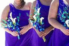 Florida beach wedding themes - orchids by Suncoast ...