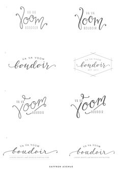 LOVE THESE FONTS