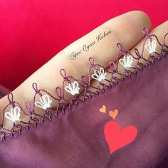 New Writing Cheesecloth Embroider - Tatting Ideen 2019 Needle Tatting, Needle Lace, Sticker Chart, Easy Model, Cheese Cloth, Knitted Shawls, Filet Crochet, Baby Knitting Patterns, Knitting Socks