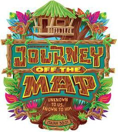 """This year kids have the opportunity to explore and discover the adventure of life during a """"Journey Off the Map"""" that is """"Unknown to Us, Known to Him"""" in the 2015 Vacation Bible School from LifeWay Christian Resources."""