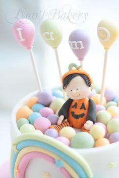 pumpkin bb in ball pool2 | Flickr - Photo Sharing!