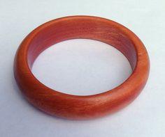 Robusta Wood Bangle Bracelet by UpcountryDesign on Etsy, $35.00
