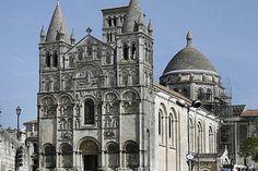 cathédrale Saint-Pierre d'Angoulême. Poitou-Charentes