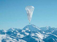 Google lanza globos para llevar Internet a zonas remotas