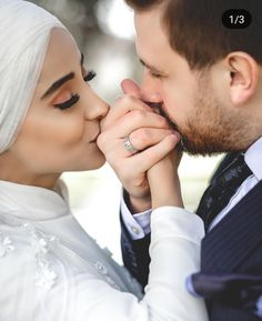 The BEST (and easiest) Pumpkin Roll! This is defin Couples Musulmans, Cute Muslim Couples, Wedding Couples, Wedding Couple Poses Photography, Outdoor Wedding Photography, Bridal Photography, Wedding Portraits, Pre Wedding Poses, Pre Wedding Photoshoot