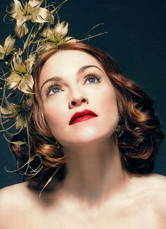 Madonna Max Factor ad.