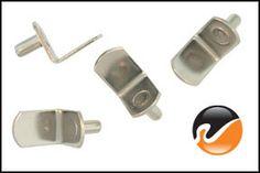 5mm Nickel L-shape Shelf Pins