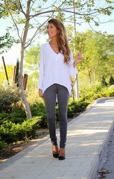 Camisa Blanca Sencilla