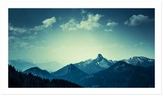 Mountains by Christian Solf (via Creattica)