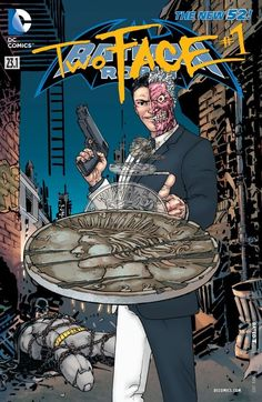 Two-Face is approached to join the Secret Society! Which side will his coin land on?Find out in Batman and Robin (2011-) #23.1: Featuring Two-Face