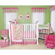"Trend Lab Paisley Park 6-Piece Crib Bedding Set - Pink/Green - Trend Lab - Babies ""R"" Us"