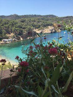 Ibiza! Puerto de San Miguel #Ibiza 💛🇪🇸