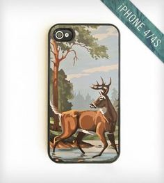 Vintage Paint-By-Number iPhone 4/4S Case