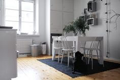 RAW Design blog: KITCHEN WITH THE BLACK RUG