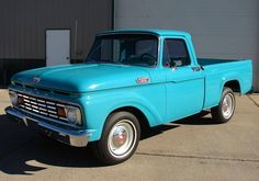 1963 Ford F100 I would love to own this car!