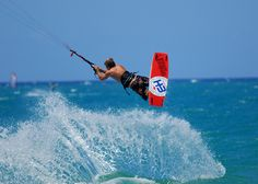 Cabarete Beach Kite Splash. This should be on your bucket list. We can show you how. #dominicanrepublic