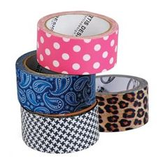Designer Duct Tape, Polka Dot, Paisley, Patterned Duct Tape | Solutions