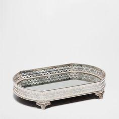 OVAL METAL TRAY - Trays - Tableware | Zara Home United Kingdom