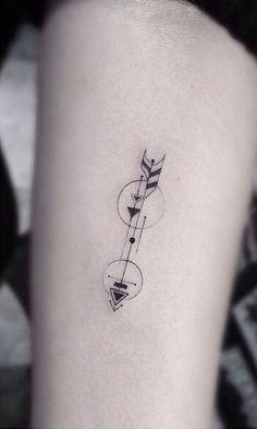 Arrow tattoo by desiree