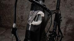 Cipollini RB1000 Luxury Edition road bike head tube badge