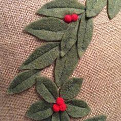 Burlap Wreath Pillow Cover, Christmas Wreath Pillow Holiday Throw Pillow, Christmas Decor, Sage Green Wreath, 3D wreath, Wreath on pill #burlap #Christmas #christmaspillow #Cover #decor #green #holiday Easy Burlap Wreath, Burlap Wreath Tutorial, Felt Wreath, Christmas Cushions, Christmas Pillow Covers, Christmas Cover, Christmas Wreaths, Christmas Crafts, Christmas Decorations